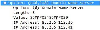 Malicious DNS servers