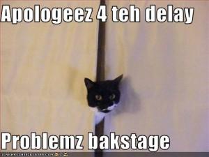 Problem Backstage