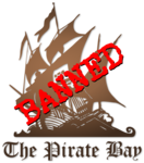 Banned Pirate Bay