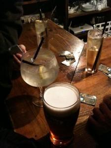 Drinks in Barcelona