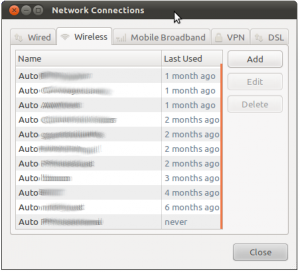 Ubuntu Wifi-Settings