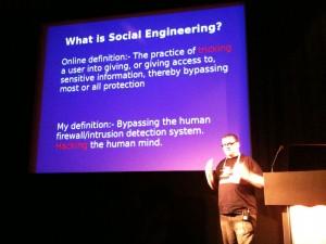 Gavin Ewan about Social Engineering