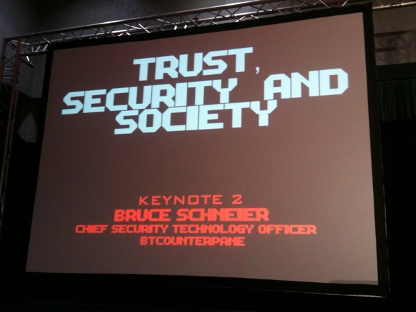 Bruce Schneier Keynote