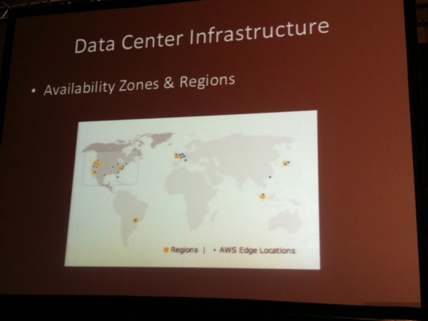 AWS Datacenters Locations