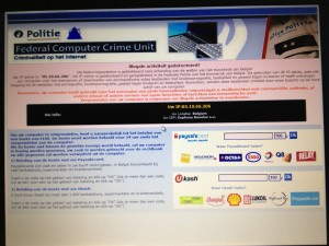 Ransomware Pop-UP