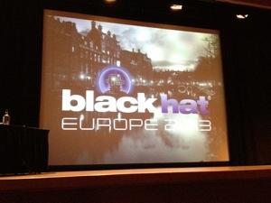 BlackHat Europe 2013