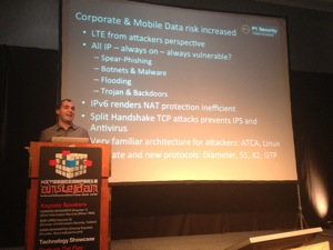 Philippe Langlois about LTE networks
