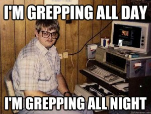 Grepping