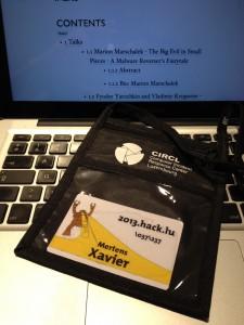 Hack.lu Badge