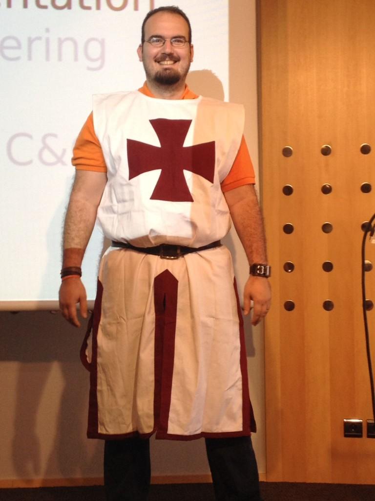 @r00tbsg as a Knight Templar