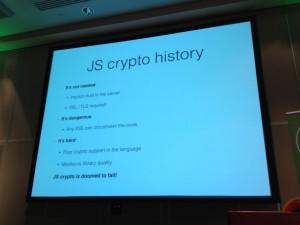 JS Crypto History