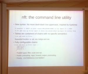 nftables Command Line