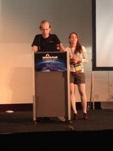 Alexey & Olga on stage