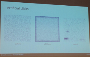 Automated click patterns