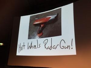 Hot-Wheels Radar