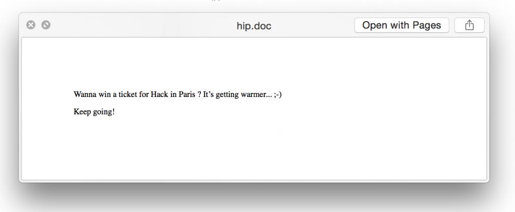 HIP Document