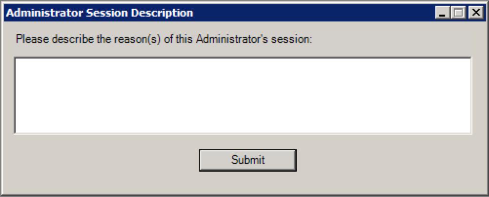 Admin Tracker Popup