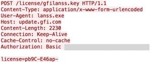 GFI LANguard HTTP