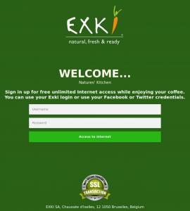 Exki Portal Sample