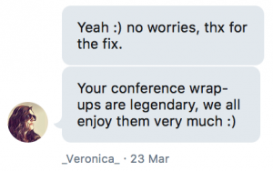 Wrap-Up Feedback
