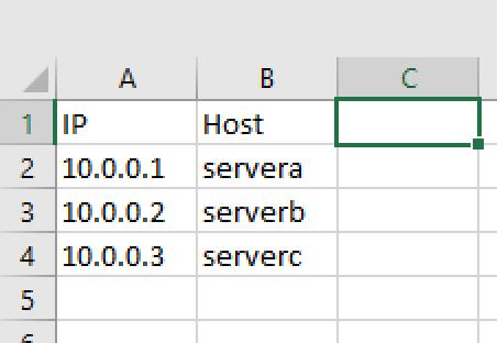 Automatic Extraction of Data from Excel Sheet   /dev/random