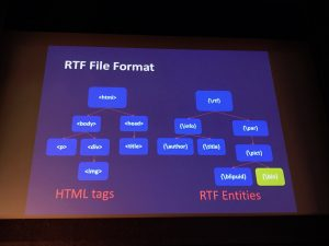 RTF vs HTML